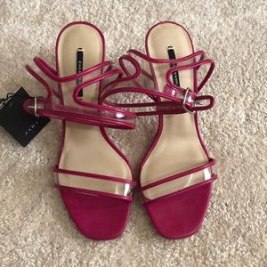 Zara never worn sandals, tag is still attached